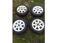 """Mk3 golf GTI wheels 14"""" 6j 4x100"""