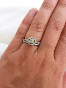 Engagement ring /Bridal set