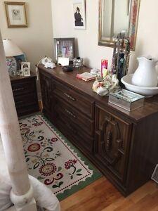 Real wood dresser