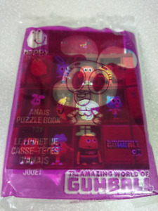 McDonald Happy Meal The Amazing World of Gumball Anais Puzzle Bk