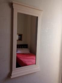 Wall mirror £8