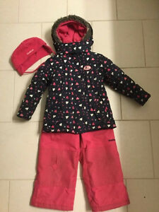 Oshkosh snowsuit size 4t temperature rated - pants are free
