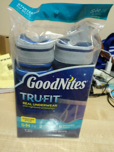 goodnites real underwear small size