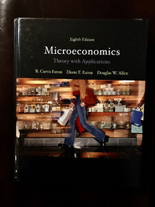 Microeconomics: Theory with Applications (8th Ed) - LIKE NEW