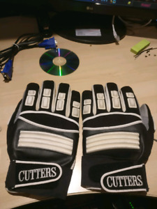 Football gangs / gloves Cutters. (Linemen full fingers)