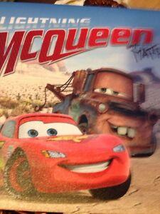 Lightning McQueen canvas art