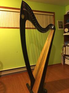 Harp for rent - Troubadour V