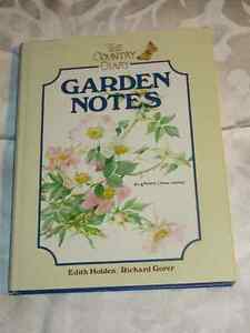 Country Diary Garden Notes - Edith Holden  HC/DJ  LOVELY