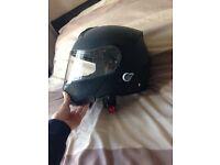 Viper Bluetooth flip up helmet