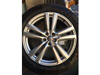 "GENUINE AUDI Q7 ALLOYS 4M 20""INCH ALLOY WHEELS AND TYRES"