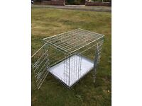 Puppy crate (folding)