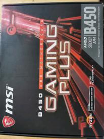 MSI B450 Gaming plus Motherboard Atx