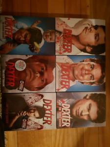 Dexter saison 1 à 6 - neuf dans leur emballage