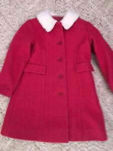 Toddler wool coat size 3-4