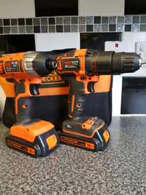 Black and decker twin drill and impact driver