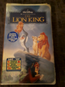 New Lion King VHS