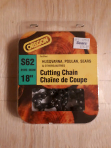 Two brand new 18inch saw chains