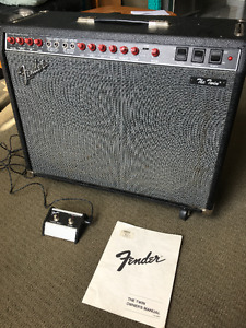 Fender Twin - Authentic Tube Amp
