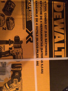 Brand new in the box DeWalt power tools for sale $450