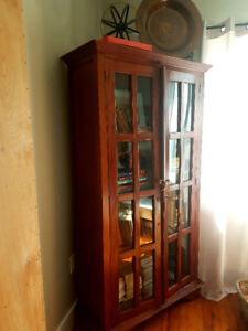 Stunning solid wood cabinet