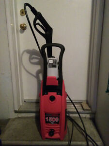 PRESSURE WASHER-CLEAN FORCE // 1500 PSI