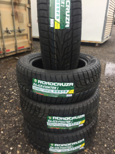 NEW WINTER TIRES ROAD CRUZA 225/55/R17 INSTALLATION INCLUDED
