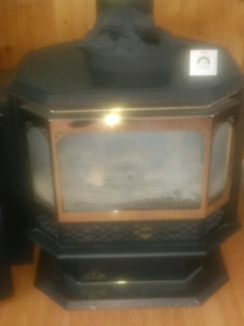 Napoleon propane fireplace. Sold sold sold