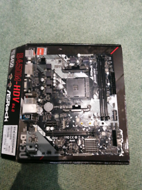 Asrock B450M-HDV r4.0 AM4 motherboard