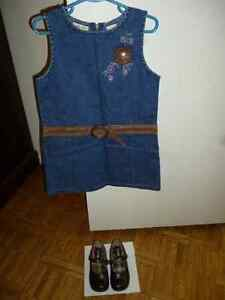 Cherokee Jean Dress and Jessie Girl Leather Dress Shoes