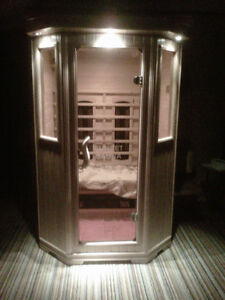 FAR INFRARED SAUNA SAUNACORE SUNSET SERIES