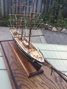Handcrafted model ship Cutty Sark