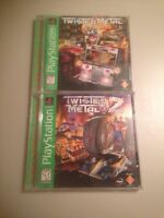 Twisted Metal 1 and 2 on Playstation 1 (PS1)