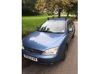 Ford Mondeo 2003 2.0L Diesel