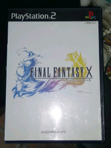 [JAPANESE] Final Fantasy X (10), for the Playstation 2 (PS2)