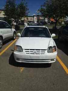 2003 Hyundai Accent Coupe (2 door)
