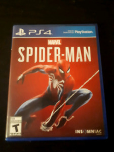 Ps4 spider man for sale or trade