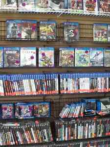 LARGE SELECTION OF XBOX ONE, PS4, WII U GAMES! NEW & USED!!!