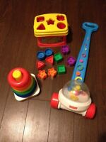 Fisher Price Classic Toy Trio