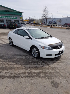 2009 Honda Civic EX-L Coupe ... 104,039 km's, Fully Loaded !!
