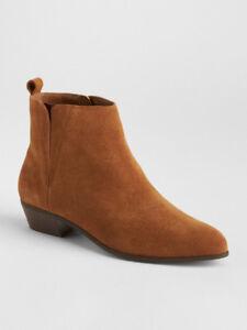 Gap Women's Chelsea Boots in Chestnut Brown – Size 6.5