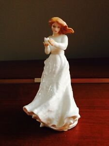 Royal doulton thank you girl. White dress Oakville / Halton Region Toronto (GTA) image 1