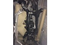 BMW 120d rear differential subframe