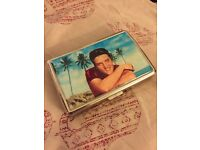 Elvis Presley cigarette case / holder / rollies