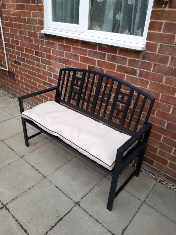 Remarkable 2 Sturdy Metal 2 Seater Garden Benches In Harlow Essex Gumtree Beatyapartments Chair Design Images Beatyapartmentscom