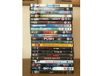 DVD movies for sale 21pcs