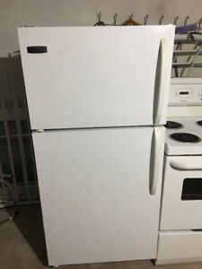 "Rare size top freezer bottom fridge 28""w29""d60""h fully working"