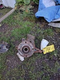 pug 206 2.0 hdi non abs front hub