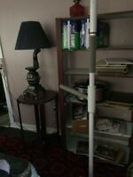 Extension pole for standing from bed or chair