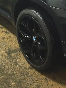 21 inch BMW X5 X6 rims and tires