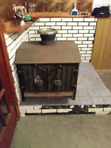 Cook Air Tight Cast Iron Wood Stove for Sell